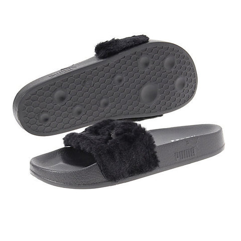 FUR SLIDE BY FENTY WOMEN'S SANDALS
