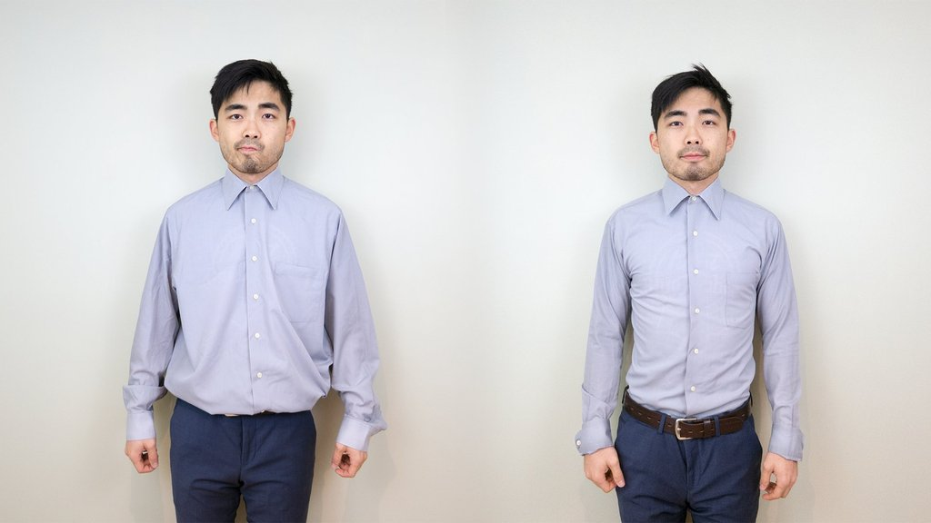 Tailor Your Baggy Shirts in 2 Minutes