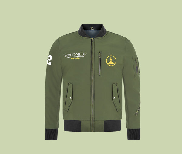 AnyOne Can WP | Green Bomber Jacket