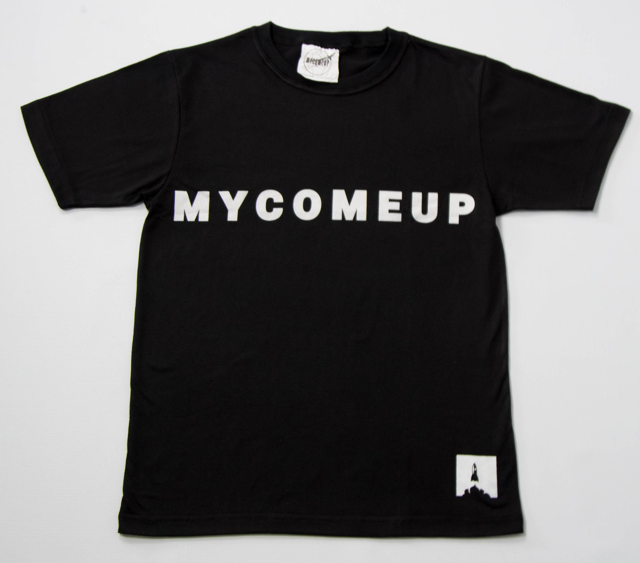 MYCOMEUP Original Black T-shirt