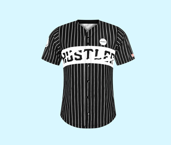 Men's HUSTLER Can | Black Jersey
