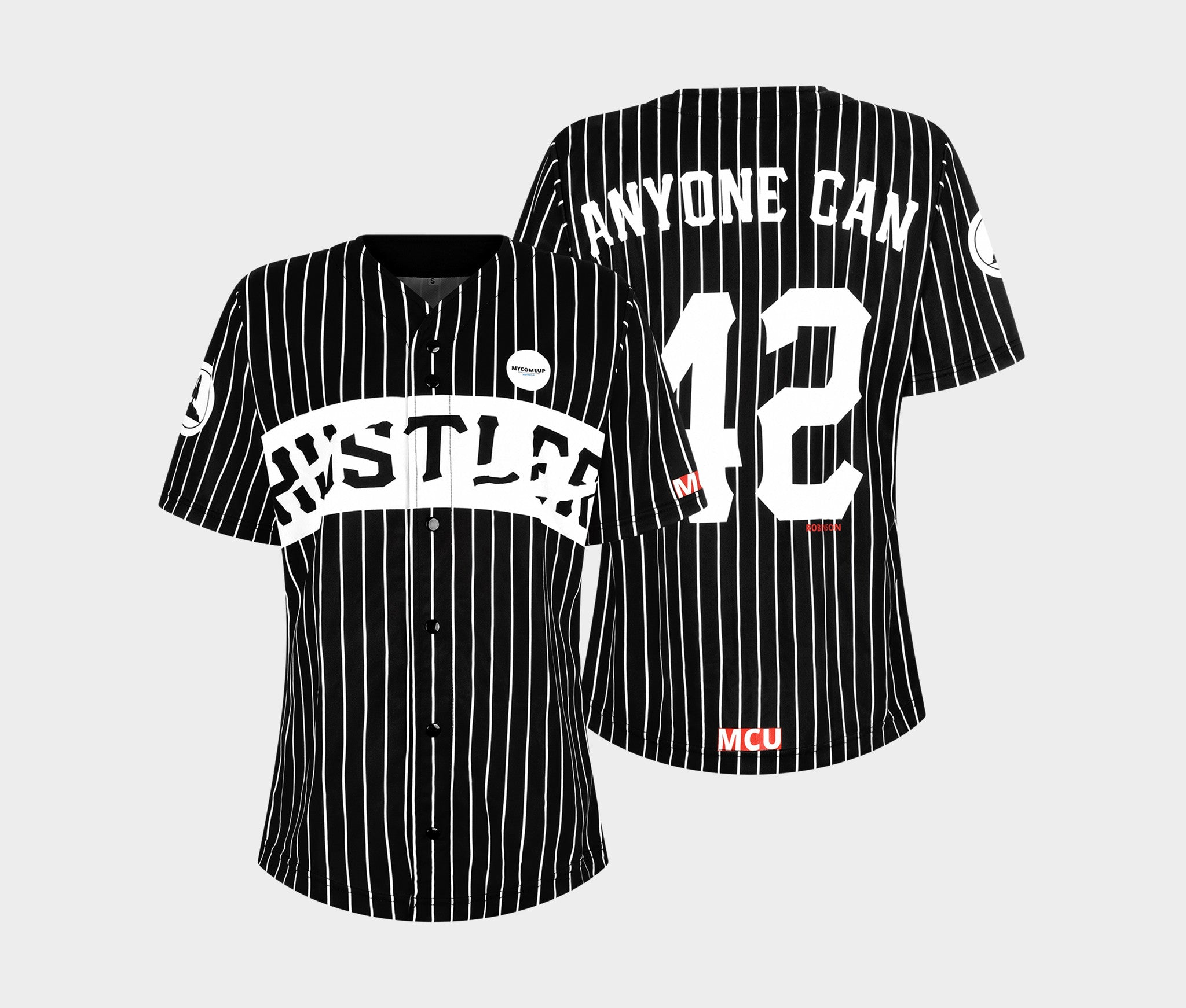 Women's HUSTLER | Black Oversized Jersey