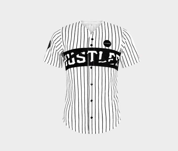 Men's HUSTLER Can | White Jersey