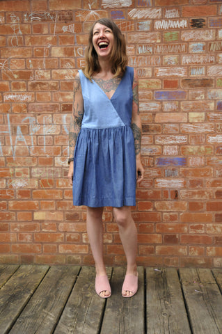 Josephine Oversized Chambray Dress
