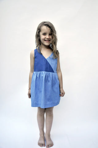 Josephine Chambray Dress (Pre-Order)