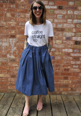 Marg Denim Skirt