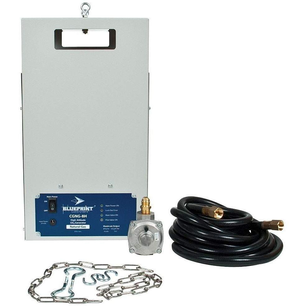 Blueprint Controllers® CO2 Generator NG High Altitude, CGNG-8H