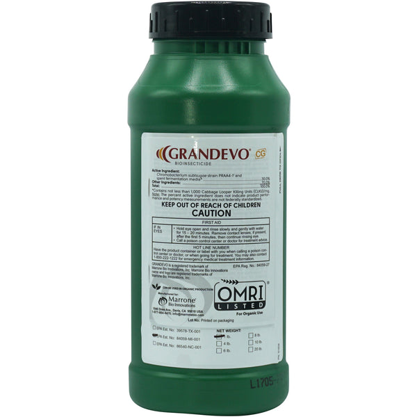 Marrone Bio Innovations Grandevo® CG Insecticide, 1 lb