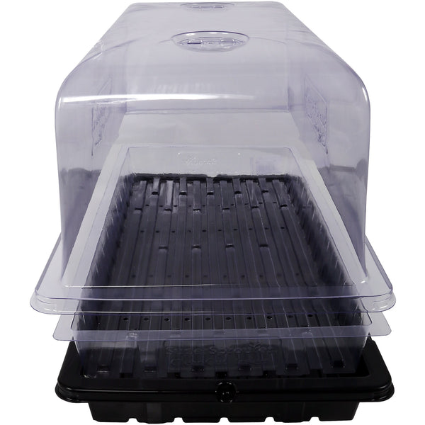 Super Sprouter® Clear Cut Insert Tray with Holes | Case of 35