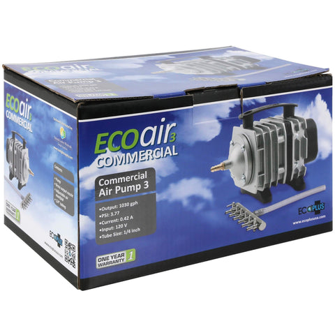 EcoPlus® Commercial Air 3 - 35 Watt Single Outlet, 1030 GPH