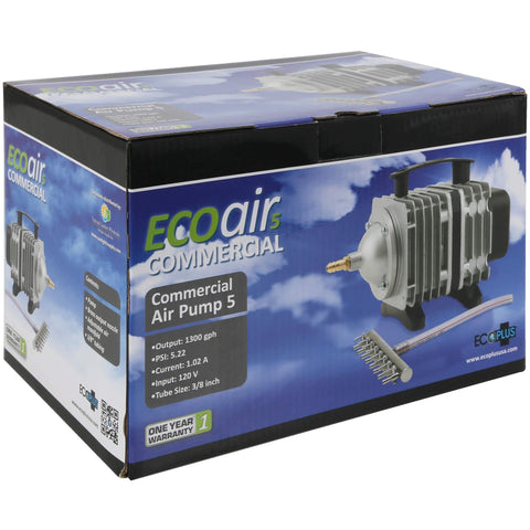 EcoPlus® Commercial Air 5 - 80 Watt Single Outlet, 1300 GPH