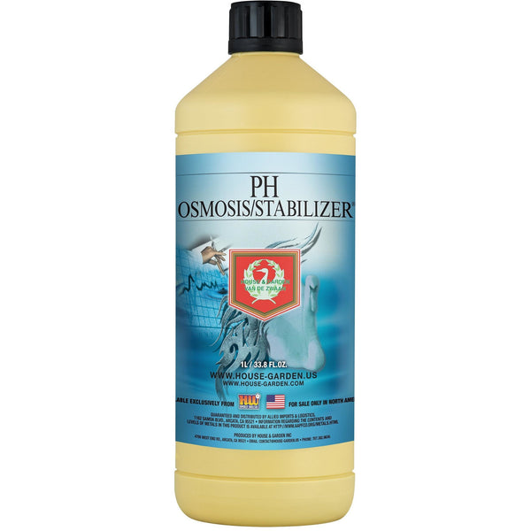 House & Garden pH Osmosis / Stabilize®, 60 L | Special Order Only