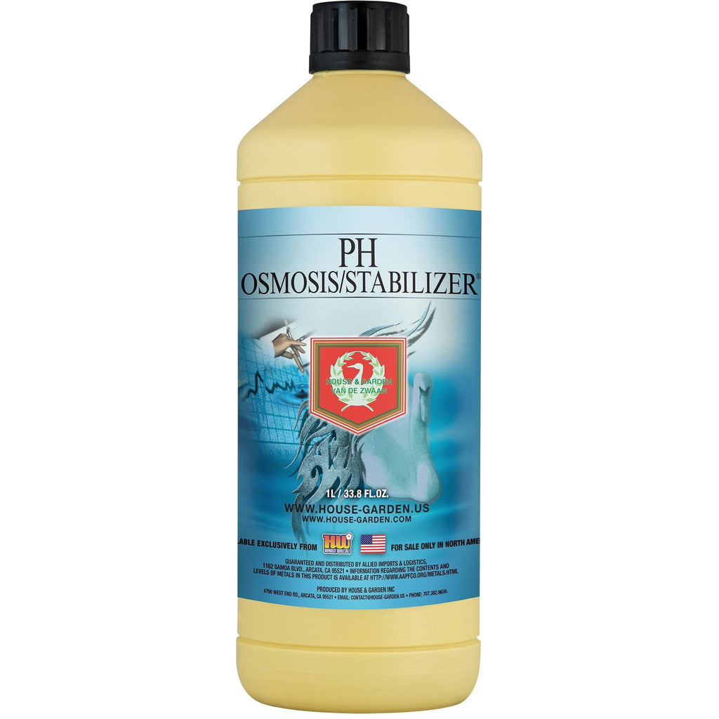 House & Garden pH Osmosis / Stabilize®, 20 L | Special Order Only