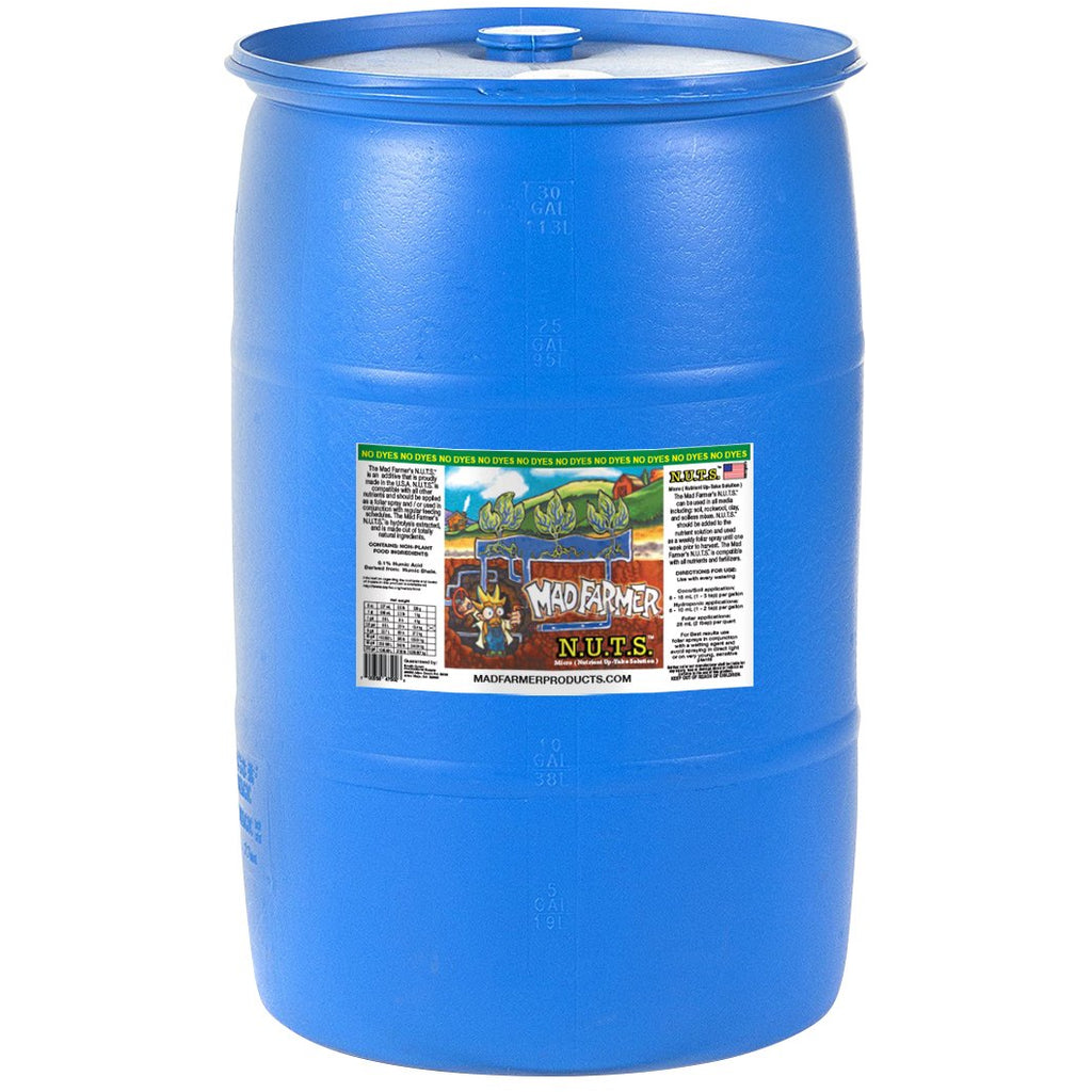 Mad Farmer™ N.U.T.S.™ (Nutrient UpTake Solution), 30 gal | Special Order Only