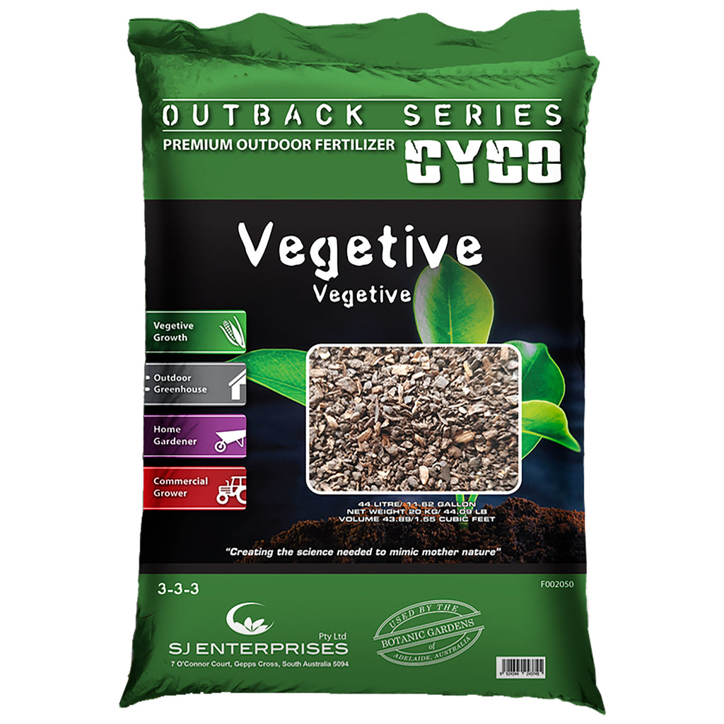 CYCO® Outback Series Vegetive, 20 kg / 44 lb