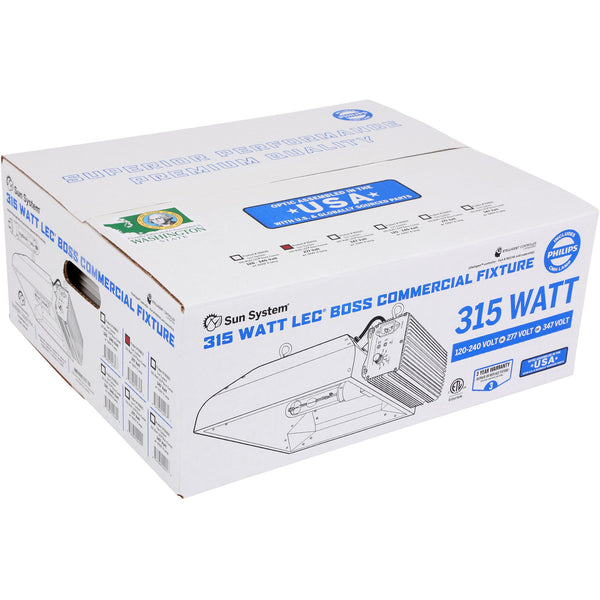 Sun System® LEC® 315 Watt Boss Commercial 277 Volt with 3100 K Lamp | Special Order Only