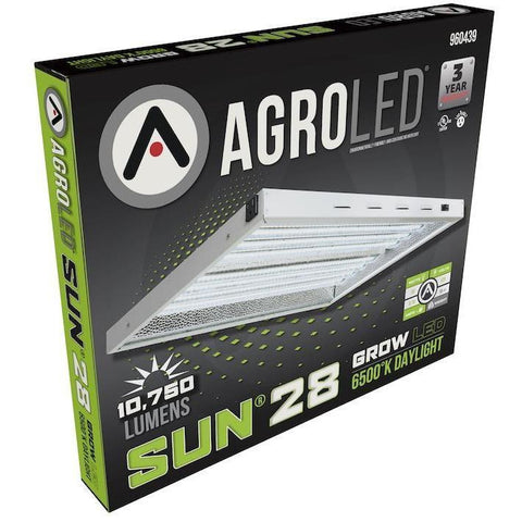 AgroLED® Sun® 28 LED Fixture, 6500K