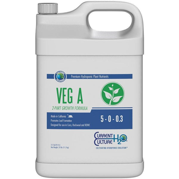 Cultured Solutions™ Veg A, 2.5 gal