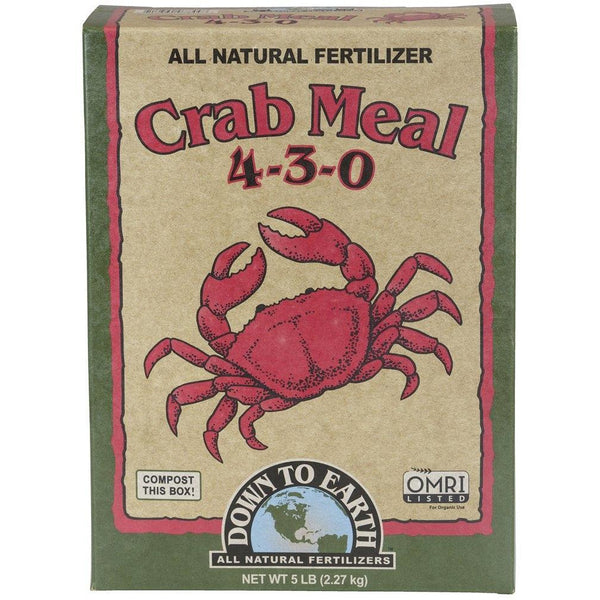 Down To Earth™ Crab Meal, 5 lb