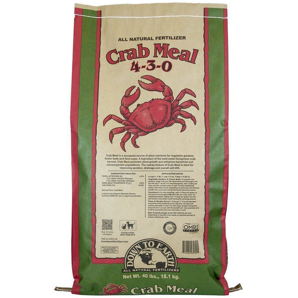 Down To Earth™ Crab Meal, 40 lb