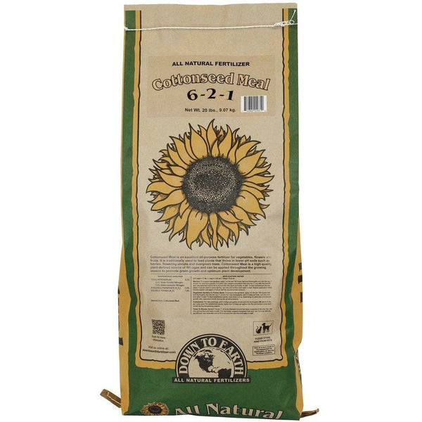 Down To Earth™ Cottonseed Meal, 20 lb