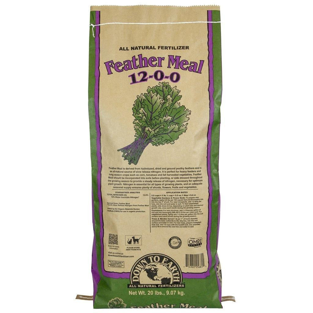 Down To Earth™ Feather Meal, 20 lb