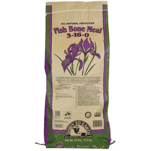 Down To Earth™ Fish Bone Meal, 25 lb