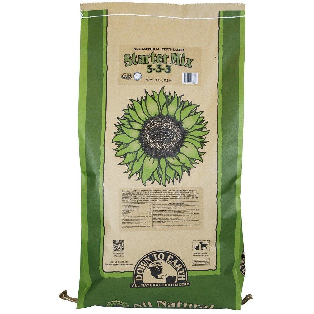 Down To Earth™ Starter Mix, 50 lb | Special Order Only