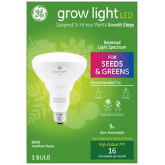 GE Lighting Grow Light Balanced Spectrum LED BR30, 9W