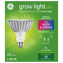 GE Lighting Grow Light Balanced Spectrum LED PAR38, 32W