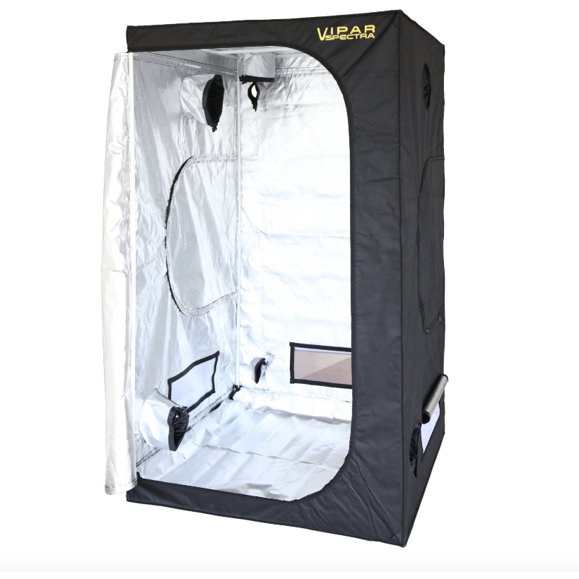 "VIPARSPECTRA 48""x48""x80"" Reflective 600D Mylar Grow Tent"