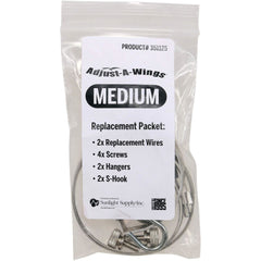Adjust-A-Wings Hardware Pack, Medium