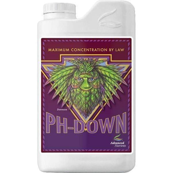 Advanced Nutrients pH Down, 1L - GARDEN SUPPLY GUYS | Discount Hydroponics & Gardening Marketplace