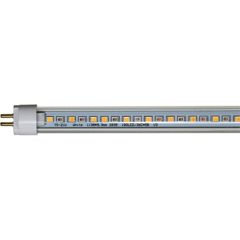 AgroLED iSunlight® 21 Watt T5 Bloom Spectrum LED Lamp, 2'