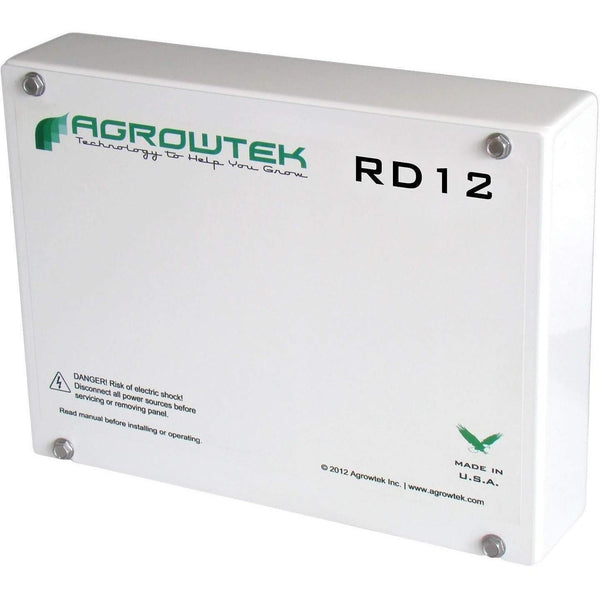 Agrowtek Rd12 Twelve Dry-Contact Relays 24Vdc/120Vac/5A Controllers |
