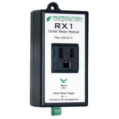 Agrowtek RX1 Single Relay Outlet 15A/120V