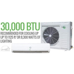 Aura Systems Mini Split 30,000 BTU 2.5 TON 15.5 SEER Air Conditioner