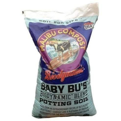 Baby Bus Biodynamic® Blend Potting Soil 1.5 Cu Ft Grow Media | & Soiless