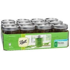 Ball® Jars Wide Mouth Pint | Case of 12