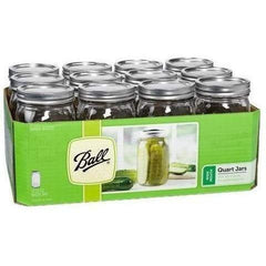Ball® Jars Wide Mouth Quart | Case of 12