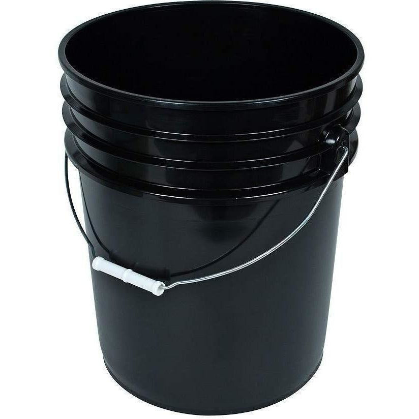 Black Bucket with Handle, 5 gal