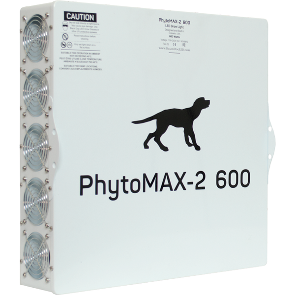 Black Dog Phytomax-2 600 Watt Led Grow Light Fixture | Panels
