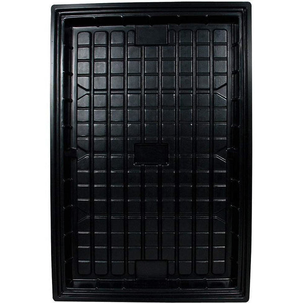 Black Flood Tray 4 X 6 Hydroponics | Trays