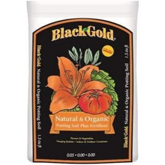 Black Gold® Natural & Organic Potting Soil Plus Fertilizer, 1.5 cu ft