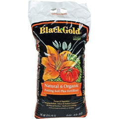 Black Gold® Natural & Organic Potting Soil Plus Fertilizer, 16 qt