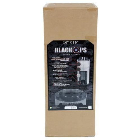 "Black Ops® Carbon Filter 10"" x 39"" 1400 CFM"
