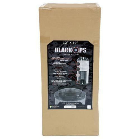"Black Ops® Carbon Filter 12"" x 39"" 1700 CFM"