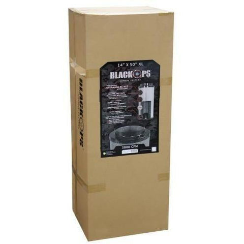 "Black Ops® Carbon Filter 14"" x 50"" XL 3500 CFM"