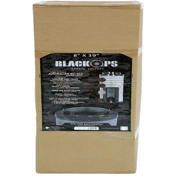 Black Ops® Carbon Filter 8 X 39 950 Cfm Air Purification | Filters