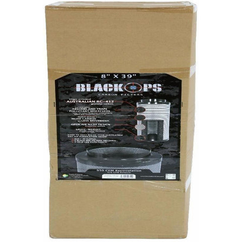 "Black Ops® Carbon Filter 8"" x 39"" 950 CFM"